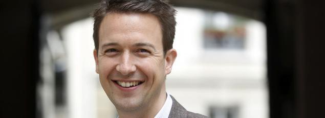 Le cofondateur de la Droite forte, Guillaume Peltier