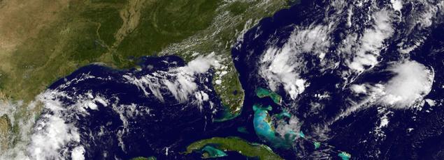 La tempête tropicale Matthew s'est formée au-dessus de l'Atlantique, sur le sud des Antilles. Les prévisionnistes américains estiment qu'elle pourrait devenir un ouragan.