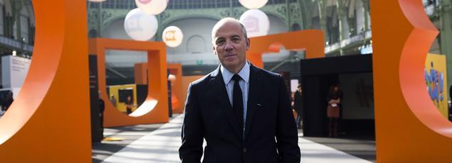 Le PDG d'Orange, Stéphane Richard.