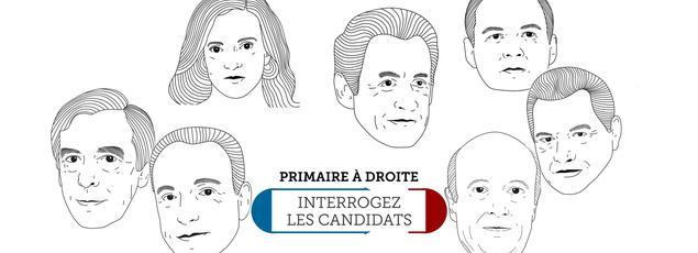 Les sept candidats à la primaire de la droite ont répondus aux questions posées sur l'éducation.