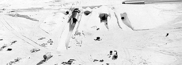Ce camp souterrain a été construit par l'armée américaine en 1959.
