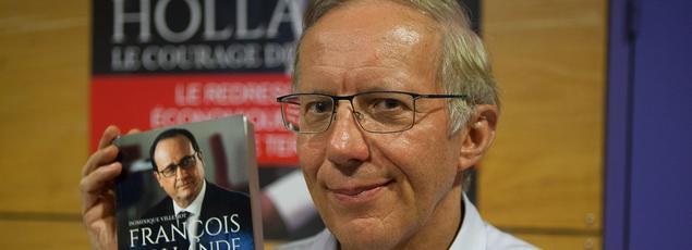 Dominique Villemot, avocat et fervent soutien de François Hollande