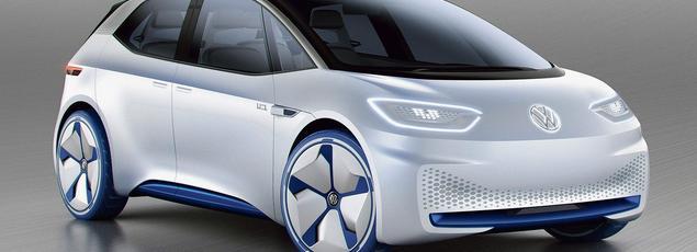 Le concept car I.D. de Volkswagen.