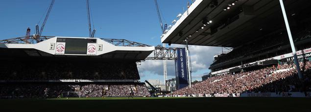 Le stade de White Hart Lane où evolue l'équipe de Tottenham.