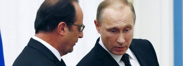 Vladimir Poutine reporte sa visite à Paris