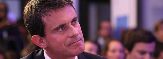 Manuel Valls à Paris, le 10 octobre 2016.