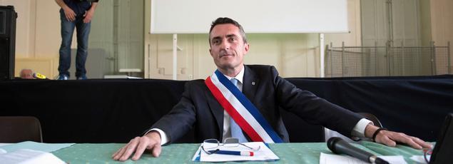 Stéphane Ravier, sénateur-maire des 13e et 14e arrondissements de Marseille