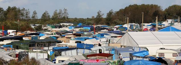 Le campement de fortune héberge 6486 migrants selon le dernier recensement déclaratif, dont 1291 mineurs.