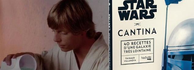 «Star Wars Cantina» est un livre de cuisine écrit par un maître queux passionné par les aventures intergalactiques de Georges Lucas. Hachette a eu la bonne idée d'imprimer les recettes de Tatooine, Jakku... des planètes très très loin de notre galaxie.