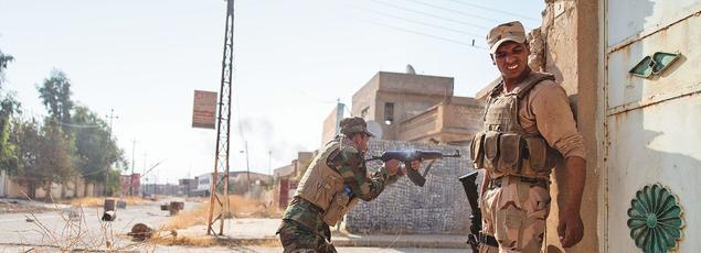 L'armée irakienne vient de libérer la ville chrétienne de Qaraqosh, en Irak, après deux ans d'occupation par l'État islamique.