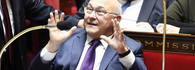 Michel Sapin, le ministre de l'Économie et des Finances.