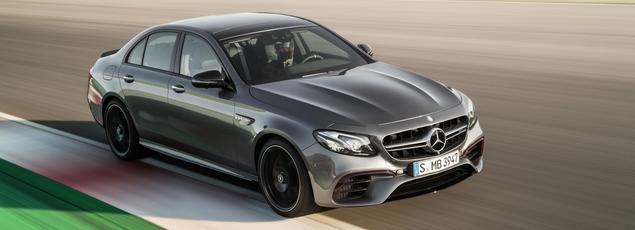 La nouvelle Classe E AMG est proposée avec deux niveaux de puissance.