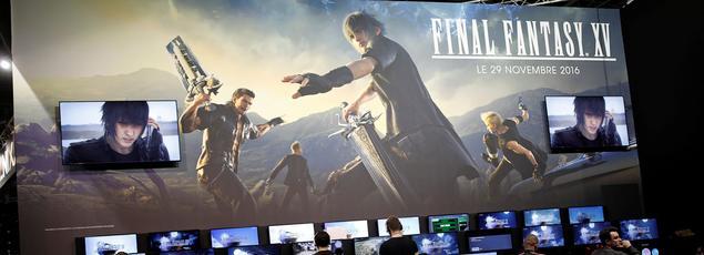 Le jeu de rôle Final Fantasy XV est jouable en avant-première sur le salon.