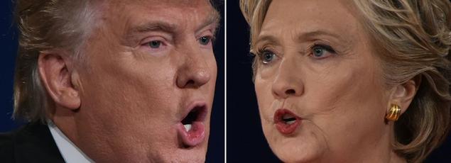 Donald Trump et Hillary Clinton n'érigent pas en priorité la réduction du défit budgétaire.