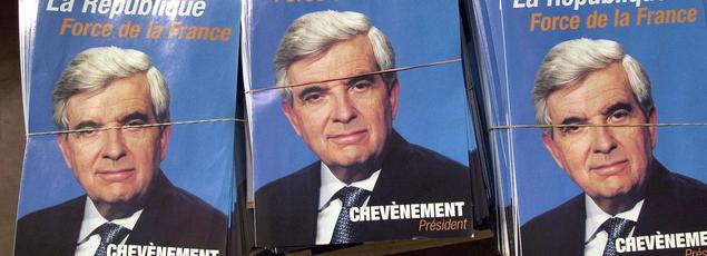 Le programme de Jean-Pierre Chevènement, lors de l'élection présidentielle 2002.