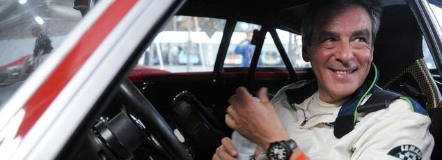 François Fillon lors de la course automobile Le Mans Classic, le 5 juillet 2014. Crédits Photo: JEAN-FRANCOIS MONIER/AFP