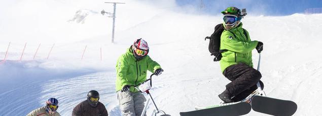 Le Snowscoot BMX est en passe de devenir le troisième mode de glisse en France.