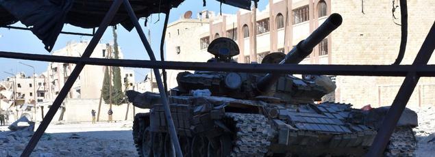 L'Armée syrienne de Damas avance à Alep-Est face aux rebelles.
