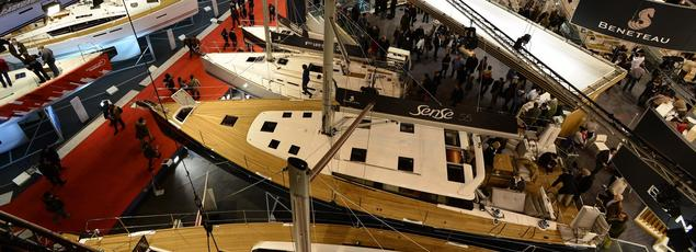 Le Salon Nautique, port indoor de 850 bateaux (Raoul Dobremel)