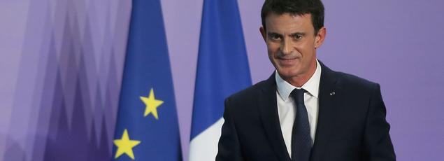 Manuel Valls, vendredi à Nancy.