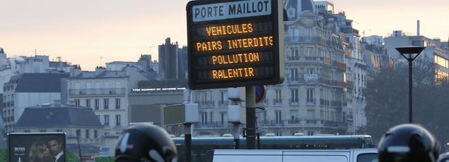 La circulation alternée prendra fin ce week-end en région parisienne.