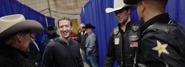 Mark Zuckerberg veut rencontrer des habitants de tous les États des États-Unis.