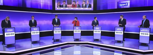 Le plateau du débat, ce jeudi soir.