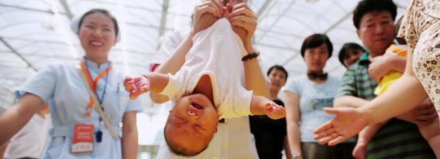 Le pays le plus peuplé au monde a enregistré 17,86 millions de naissances en 2016.