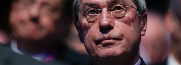 Claude Guéant lors d'un conseil national du parti Les Républicains, le 14 janvier 2017.