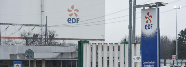 Au total, 850 agents EDF et environ 250 salariés d'entreprises prestataires travaillent à la centrale de Fessenheim.