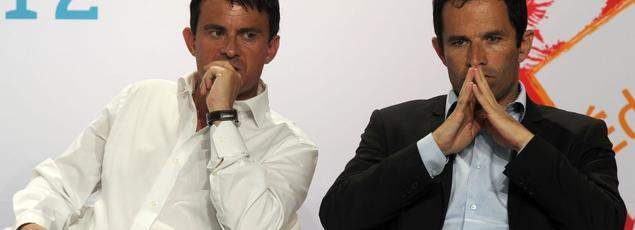 Le 25 août 2012, les deux concurrents étaient alors ministres de François Hollande.