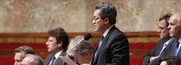 Le député du Rhône Georges Fenech