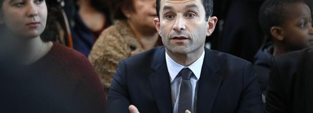 Benoît Hamon, le candidat du PS à l'élection présidentielle.