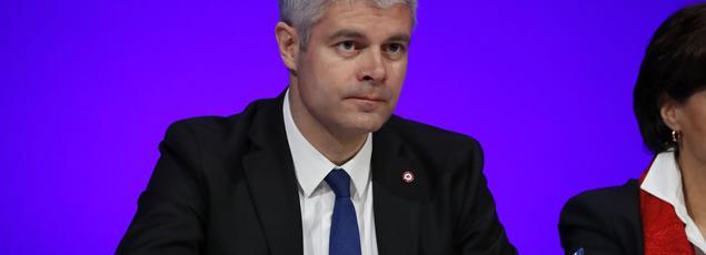 Le président de la région Rhône-Alpes-Auvergne, Laurent Wauquiez (LR)