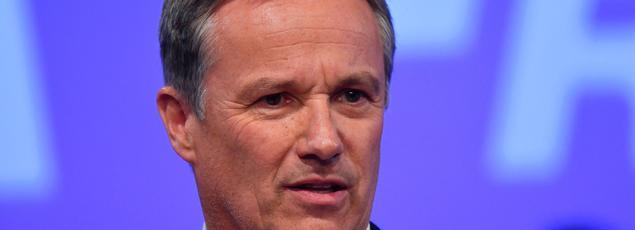 Le député-maire de Yerres et candidat à l'élection présidentielle, Nicolas Dupont-Aignan