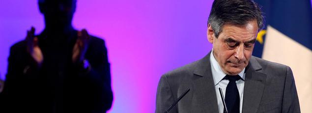 François Fillon, candidat à la présidentielle