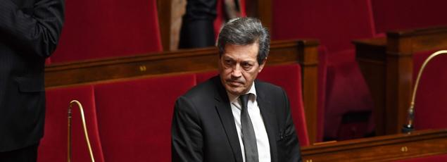 Le député Georges Fenech mardi à l'Assemblée.