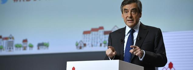 François Fillon, mardi, au forum organisé par la Mutualité française.