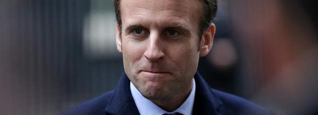 Emmanuel Macron, mardi, à Londres.