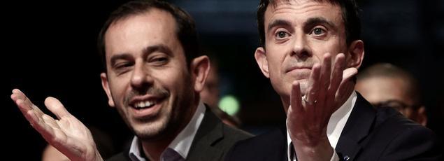 Manuel Valls et Carlos da Silva