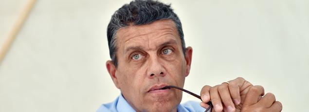 Xavier Beulin, le président décédé dimanche de la FNSEA, ici en août 2016.