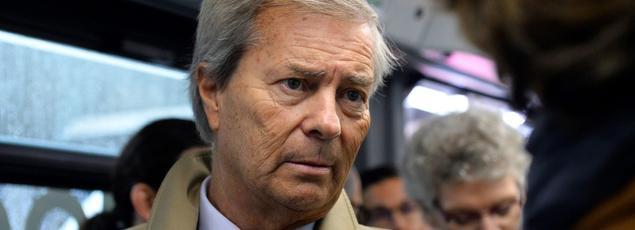 Vincent Bolloré est le président du conseil de surveillance de Vivendi, qui a fait une entrée fracassante au capital de Mediaset à la fin de l'année dernière.