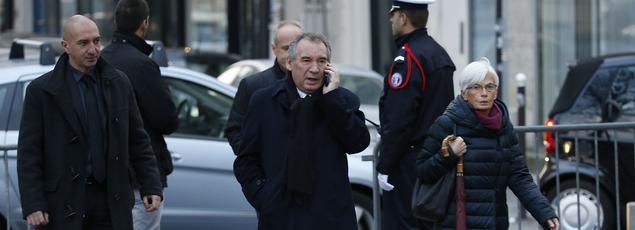 François Bayrou, le 8 décembre 2014 à Paris.