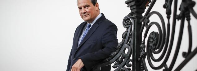 Le chef du Parti socialiste, Jean-Christophe Cambadélis