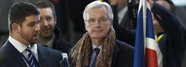 Le négociateur en chef de l'Union européenne pour le Brexit, Michel Barnier, à Bruxelles, le 9 mars.