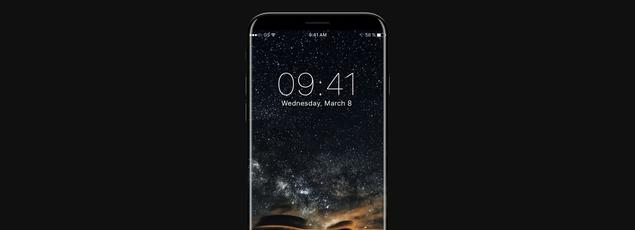Un concept d'iPhone Edition, par AlHasan Husni.