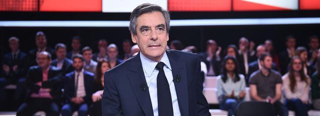 François Fillon, jeudi sur le plateau de L'Émission politique.