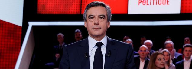 François Fillon jeudi soir sur France 2.
