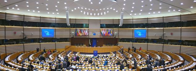 Hémicycle du Parlement européen, Bruxelles