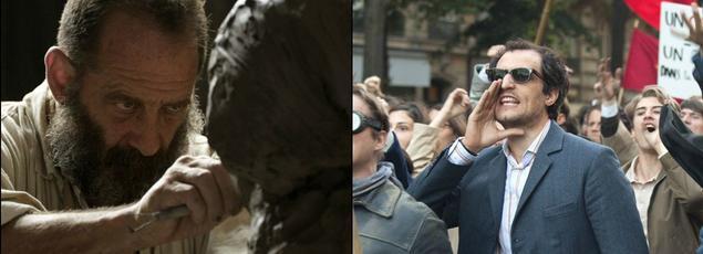 «Rodin» et «Le Redoutable», de Jacques Doillon et Michel Hazanavicius, seront en compétition au Festival de Cannes.